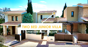 Properties For Sale Cyprus: Two Bed Junior Villa