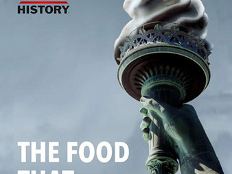 THE FOOD THAT BUILT AMERICA, Co-starring role for The History Channel