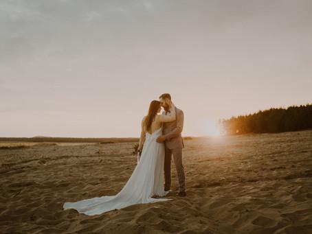 Plener ślubny na Pustyni | Pustynia Błędowska