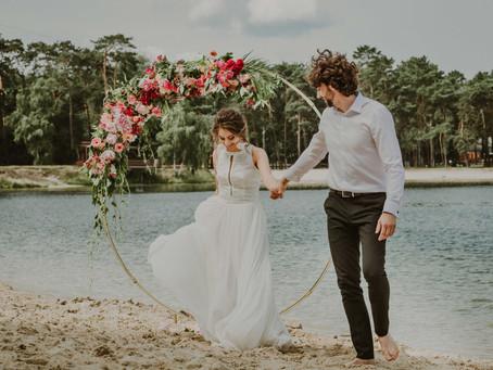 Sesja ślubna w stylu BOHO | Zalew Kryspinów