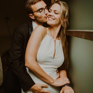 Ola i Michał | Domowa sesja poślubna