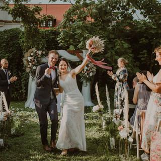 Monika i Hubert   Plenerowy ślub cywilny