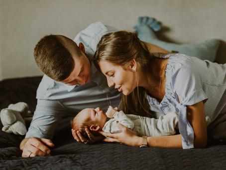 Sesja noworodkowa w domu - jak się przygotować i co należy wiedzieć.