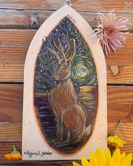 Mystical Rabbit Triptich: Fig. 3
