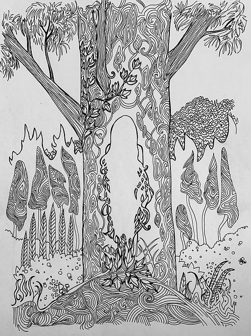 Tree Spirit Original