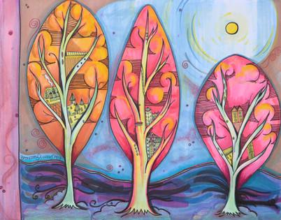 Treehouse no. 3 (Three Trees)
