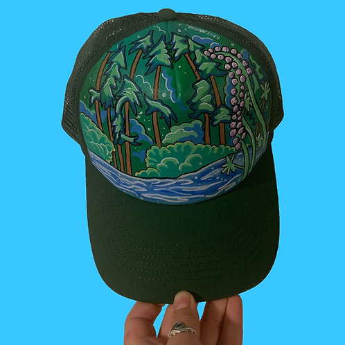 Lakeside Lupine Trucker Hat