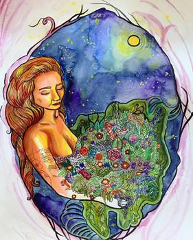 Sofi as Mother Earth