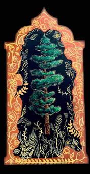 Pine with Filigree