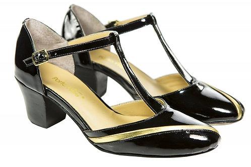Sapato Fem. Mod. Bicolor - Ref 00030