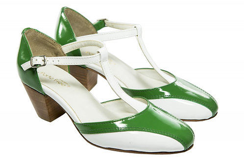 Sapato Fem. Mod. Bicolor - Ref 00027