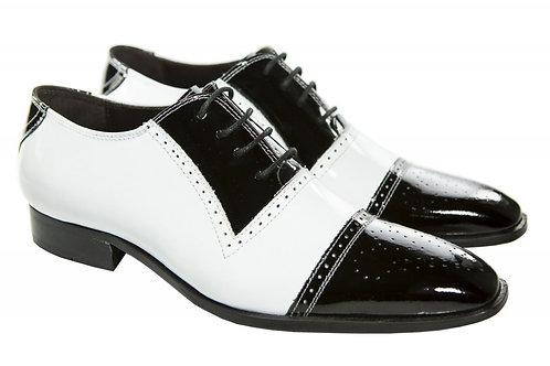 Sapato Masc. Mod. Bicolor - Ref. 00013