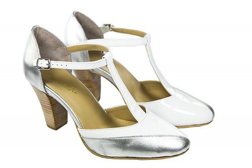 Sapato Fem. Mod. Bicolor - Ref 00029