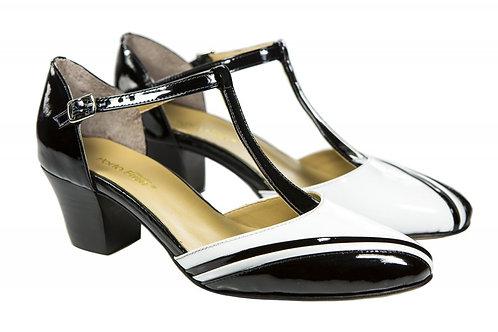 Sapato Fem. Mod. Bicolor - Ref 00031