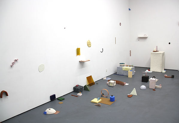 'Collage in Space' (installation view) 2