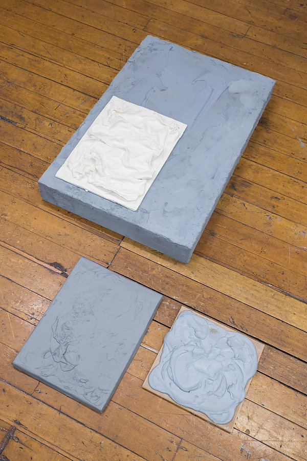 Chris - objects that look like concrete.