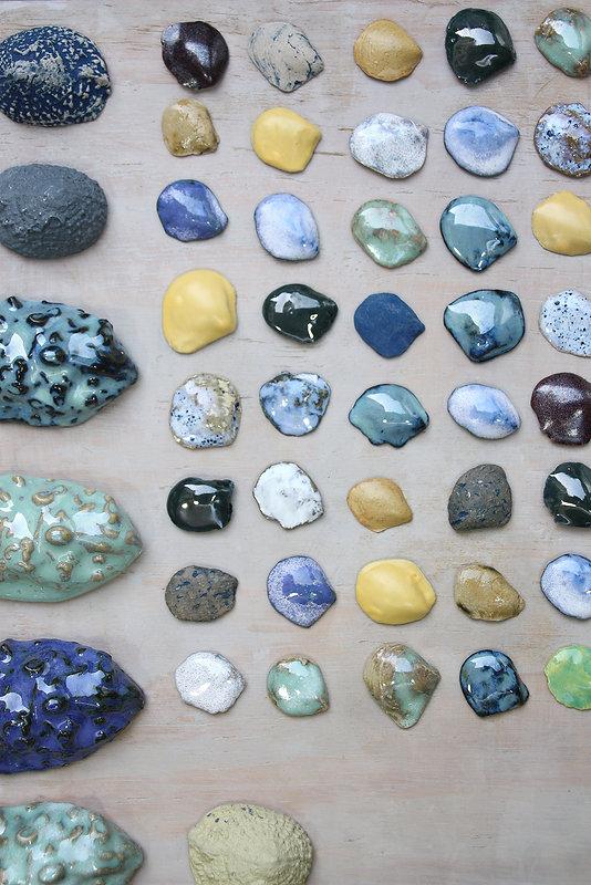 M Thornton-Smith, 'Shells and glazes', 2
