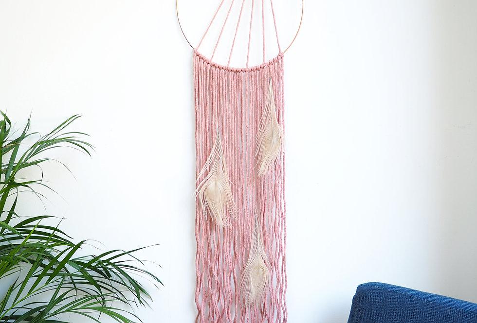 macrame hanging wall art