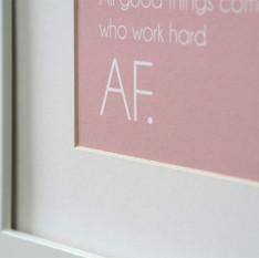ART PRINT:  All good things