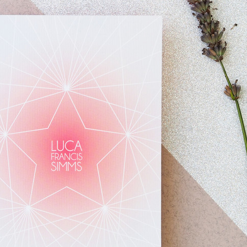 STAR LUXE INVITE FRONT