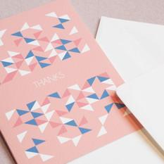 GREETINGS CARDS: GEO bunting