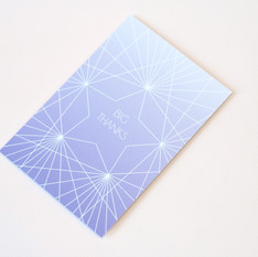 GREETINGS CARDS: STAR luxe