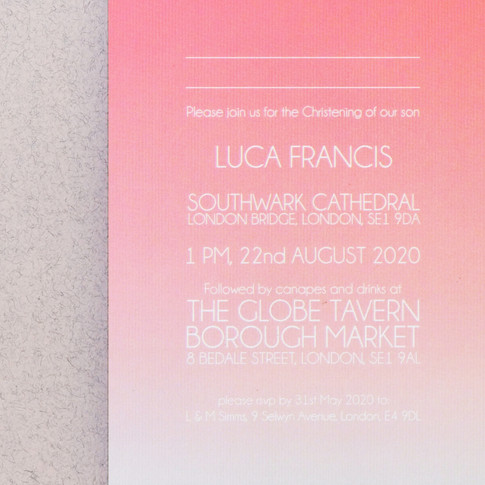 STAR LUXE INVITE DETAILS