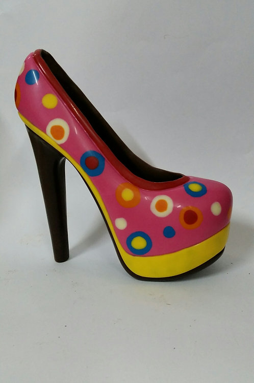 Hot Pink Spot Shoe