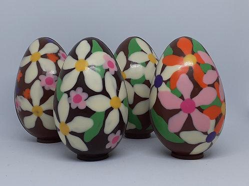 Flower Design Egg
