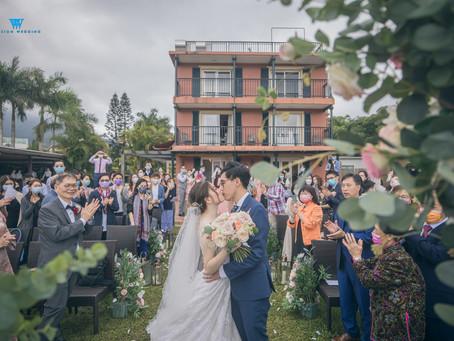 一個簡單的戶外草地婚禮Wedding Day@One-ThirtyOne