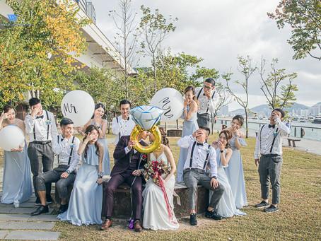 Wedding Day Photo 婚禮外影熱點 觀塘海濱長廊