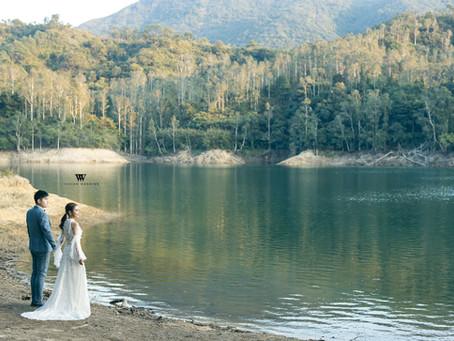 懷舊建築和大自然風的Pre-Wedding