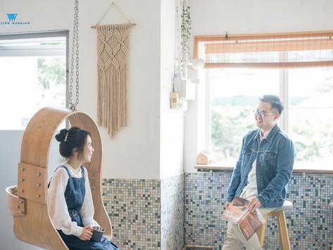 簡約文青風的HK Pre-Wedding Photo