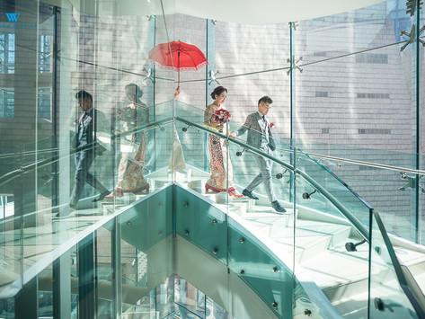 婚禮攝影 - Cordis Hotel 大埔海濱公園外影