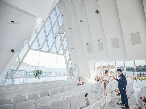 A Stunning Chapel in HK   White Chapel@Auberge Discovery Bay