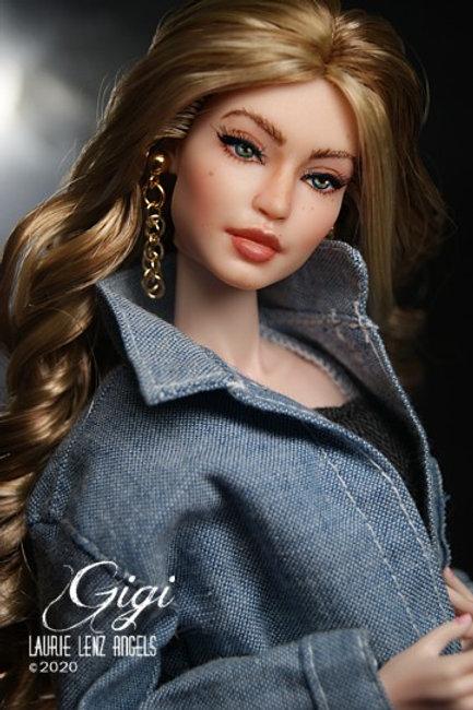 OOAK Repaint Reroot Barbie Fashion Royalty hybrid Gigi Hadid doll