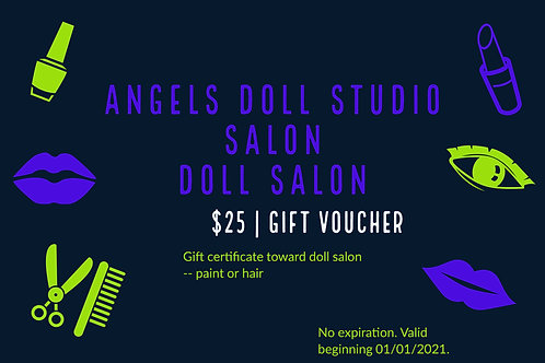 $25 GIFT voucher for Salon Services