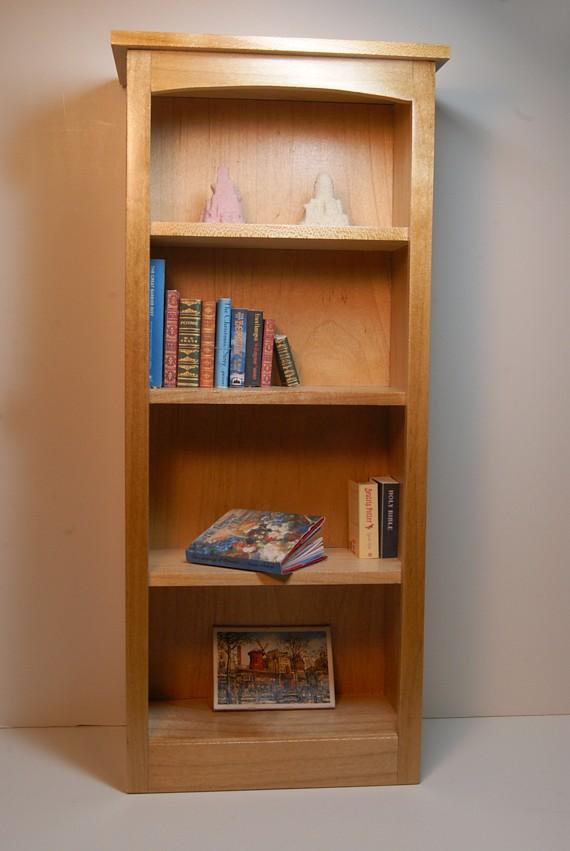 Blond Wood Bookshelf