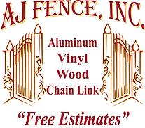 AJ FENCE, INC Logo