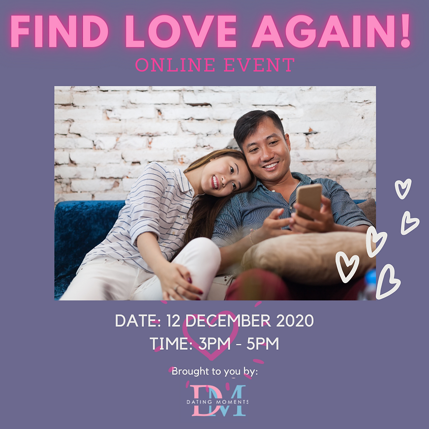 Find Love Again! (Online Speed Dating)