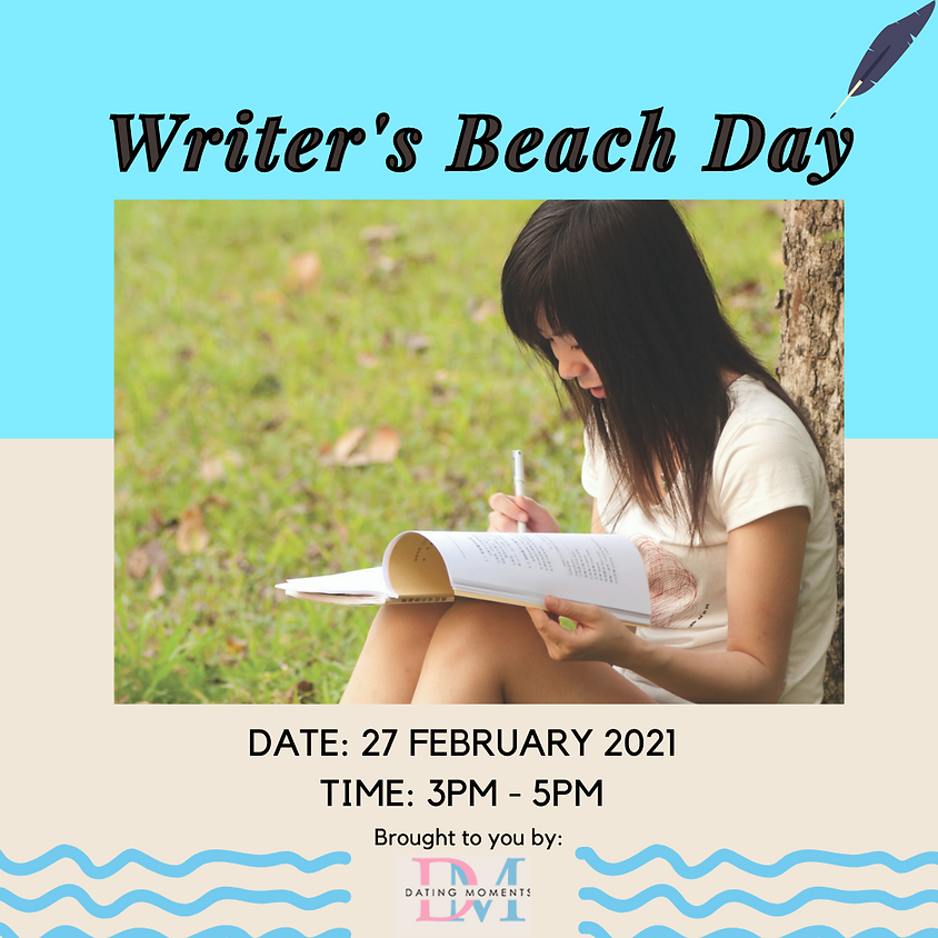 Writer's Beach Day (CALLING OUT LADIES)