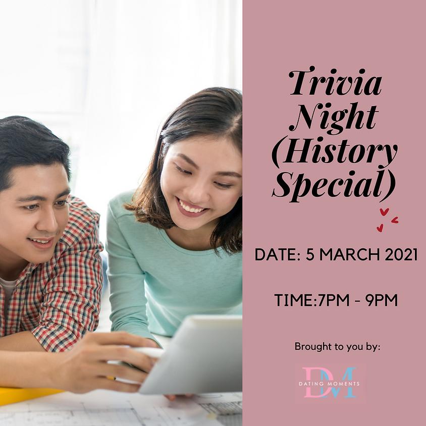 Trivia Night (History Special)! (online)