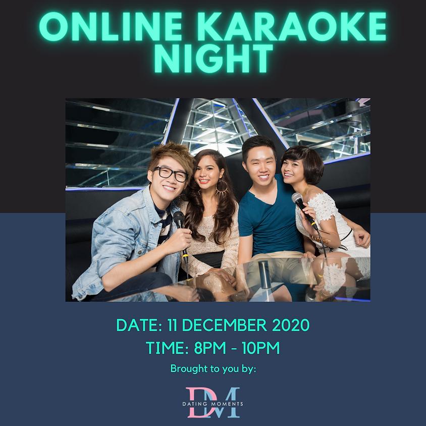 Online Karaoke Night