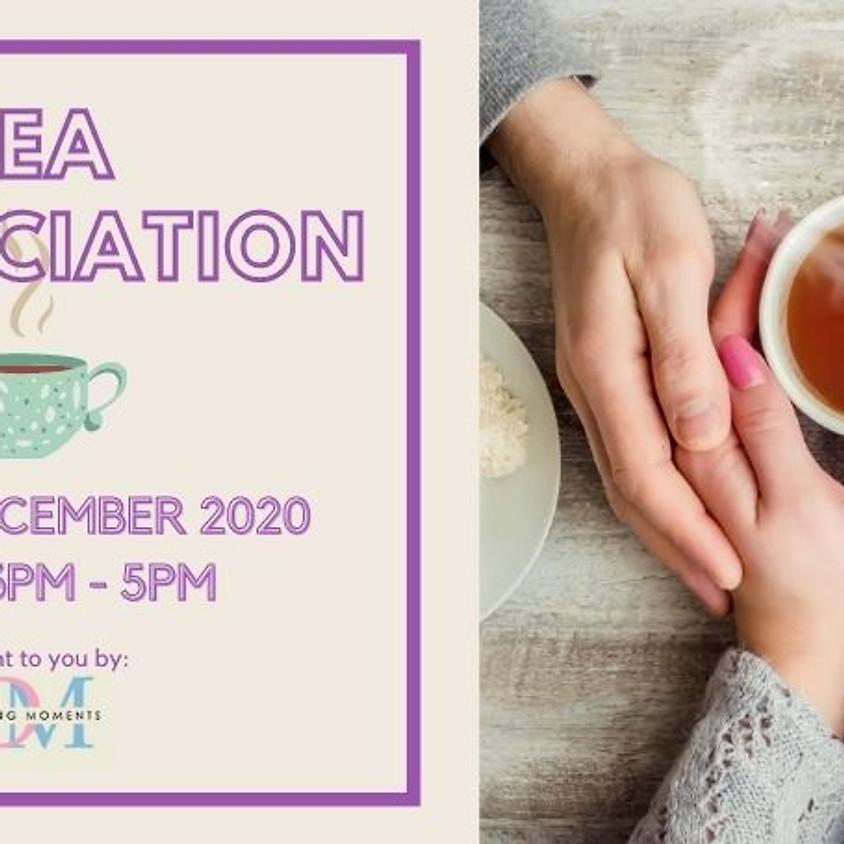 Tea Appreciation (Online Speed Dating)