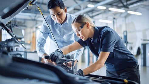 Automotive Car Worker Mechanic