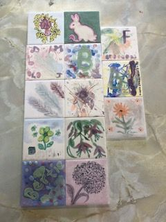 ceramic morning tiles 2