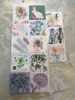 ceramic morning tiles 2