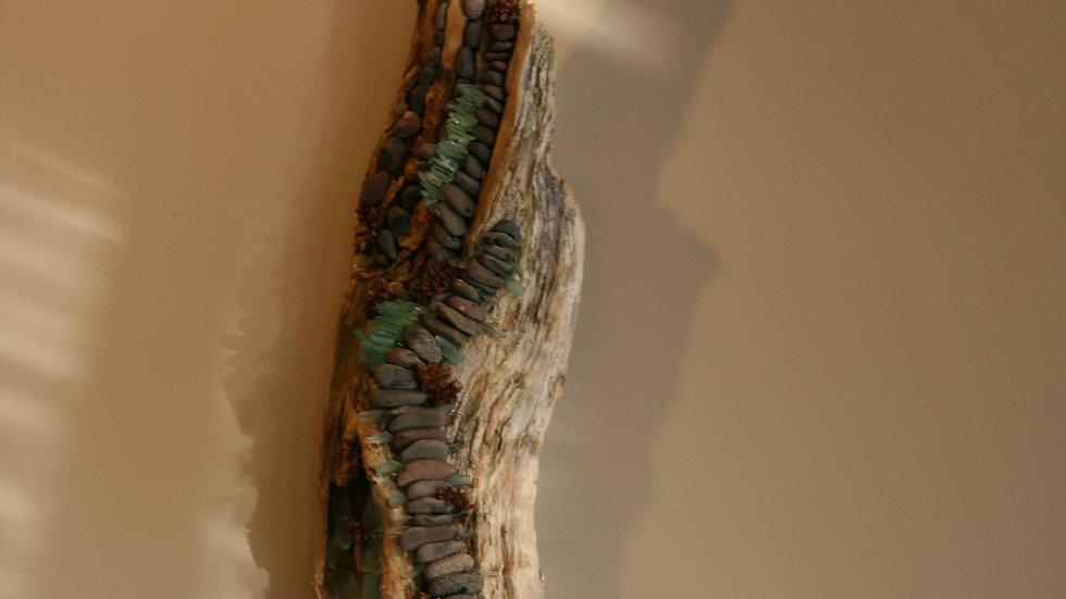 Driftwood and glass