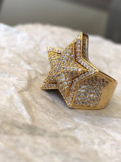 3D Star Ring