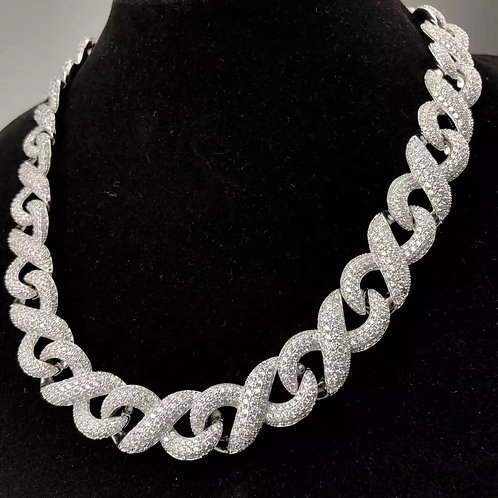 Infinity Link Cuban Chain